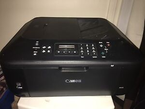 Wireless cannon printer with ink