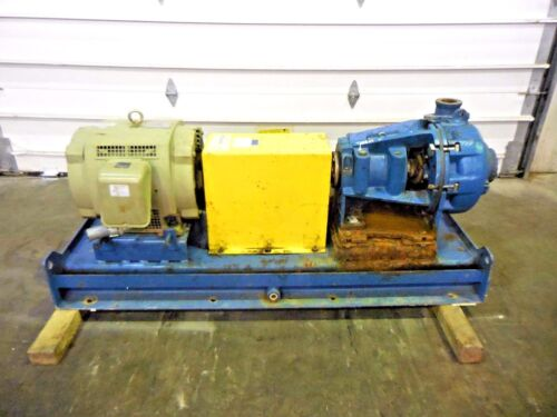 "RX-3641, METSO HM100 LHC-D 4"" x 3"" SLURRY PUMP W/ 40HP MOTOR AND FRAME"