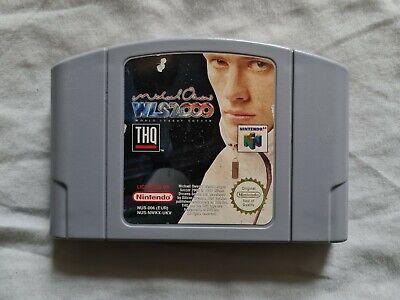 MICHAEL OWEN'S WLS 2000 WORLD LEAGUE SOCCER Nintendo 64 N64 Game PAL VERSION