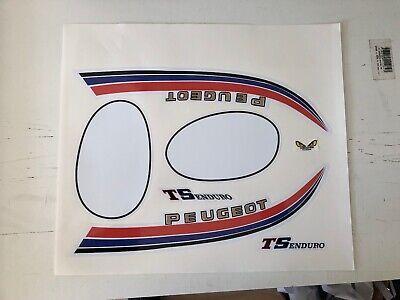 kit autocollant stickers peugeot 103 TSE blanc