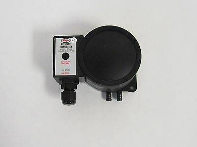New Dwyer 604a-2 Differential Pressure Transmitter 0-10 Inch W.c.