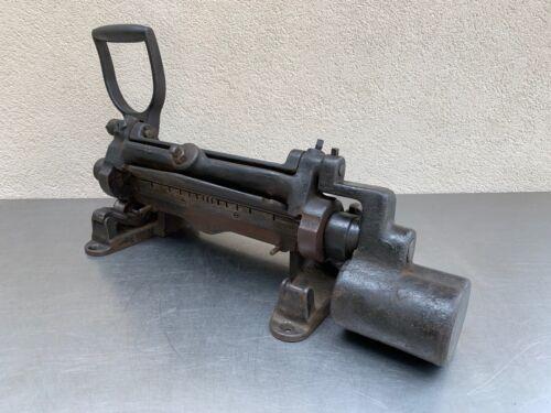 Antique Adriance Machine Works Brookln N.Y.Finger 10-1/2 Inch Brake 65 Pounds