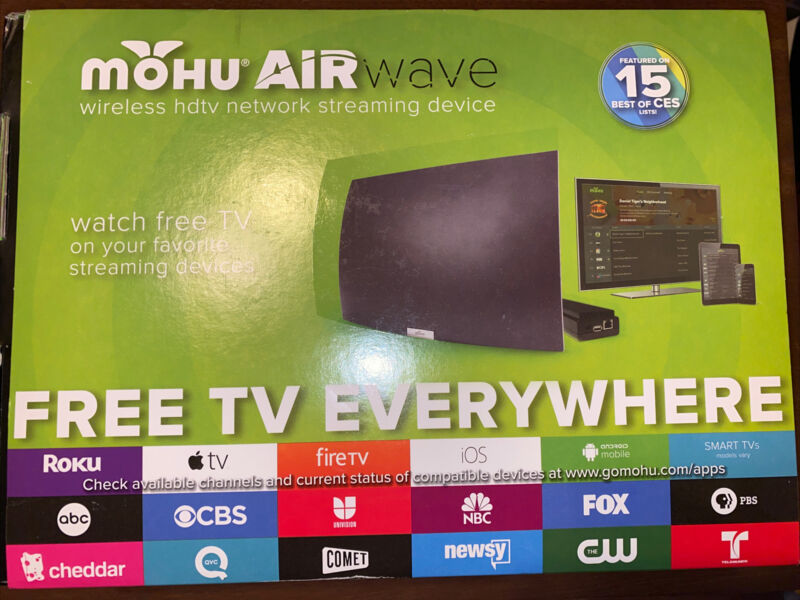 Mohu AirWave Wireless HDTV Network Streaming Device