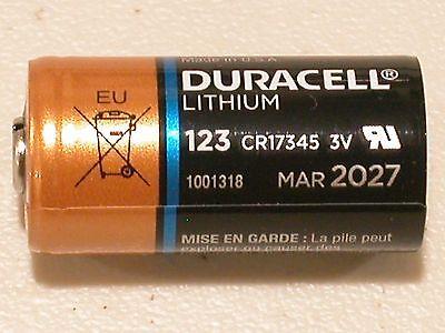 20 Duracell Cr123 123 Dl123 Battery Cr123a 17345 Lithium 1550Mah Expire 2027