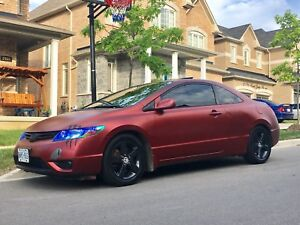 2006 Honda Civic Coupe EX Automatic Custom Color for Sale