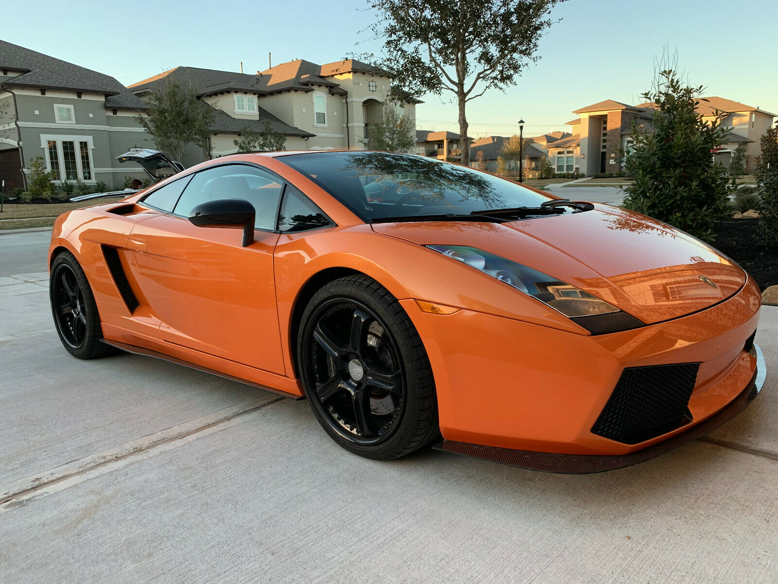 Carbon Fiber Lift System Used Lamborghini Gallardo For Sale In