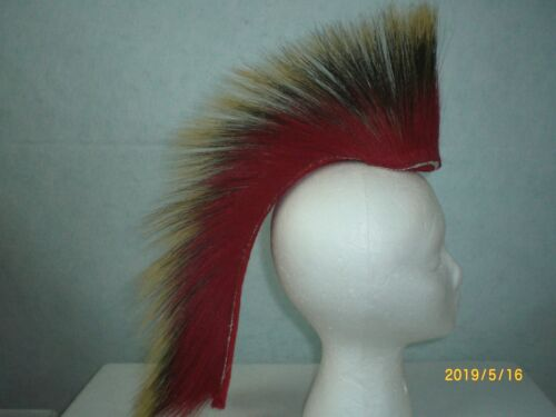 Porcupine Roach, Red, 15 inch in/ out, Red Yarn Base