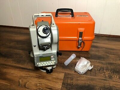 Nikon Dtm-310total Station With Case. Untested. Selling For Parts Not Working
