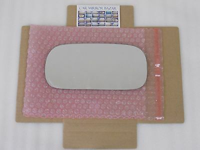 LD091 Replacement Mirror Glass for 2006-11 BUICK LUCERNE Driver Side View Left L ()