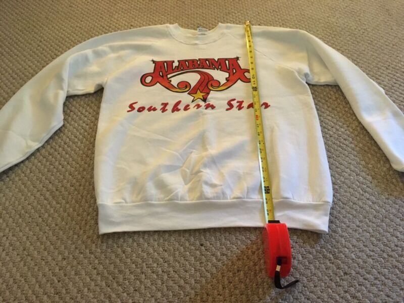 Alabama Music 1989 Southern Star Concert Tour Sweatshirt Used Please Read