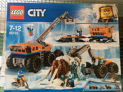 Lego City Arctic Mobile Exploration Base 60195  6 Minifigures Retired Set BNIB
