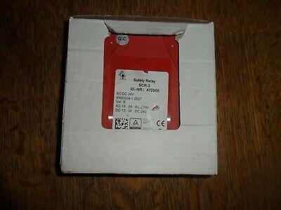 Idem Safety Relay Scr-3 Brand New