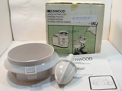 Used, KENWOOD CITRUS JUICER JUICE EXTRACTOR ATTACHMENT 28984 A532 A534 A535 A539 GOURM for sale  Shipping to United States