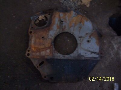 Ford 4000 Gas Tractor Engine Rear Backing Plate