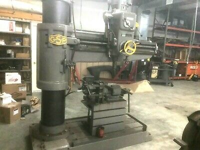 Gsp Radial Arm Drill Press Model 44k14