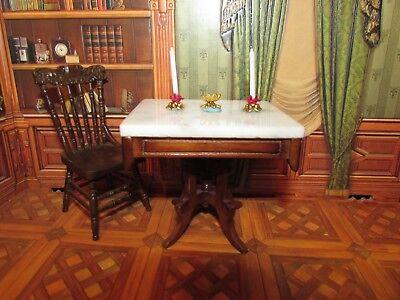 DOLLHOUSE MINIATURE TABLE CANDLE SET