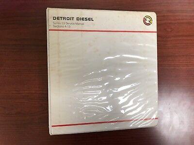 Detroit Diesel Series 53 ,Service Manual