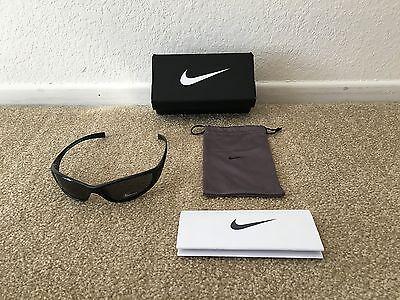 Nike Men's Sunglasses Tarj Sport Black EVO178 Max Optics Lenses New w/Tags Box