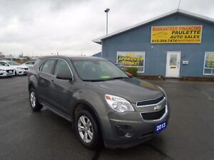 2013 Chevrolet Equinox  WWW.PAULETTEAUTO.COW - LOW KM APPLY NOW-