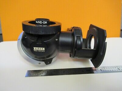 Zeiss Germany Dic Nosepiece Hd-dik Microscope Part As Pictured W2-b-57