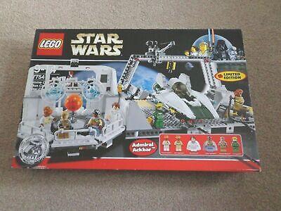 LEGO Star Wars - Home One Mon Calamari Star Cruiser Retired 7754 Limited Ed Rare