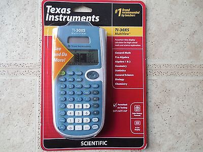NEW Texas Instruments Scientific Calculator with Multiview TI30XS Battery/Solar