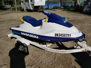 Seadoo Gsx Prestine with trailer only 143 hours