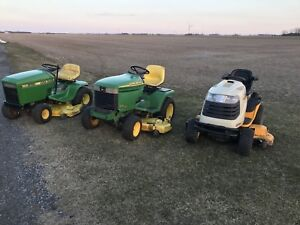 3 Lawnmowers For Sale