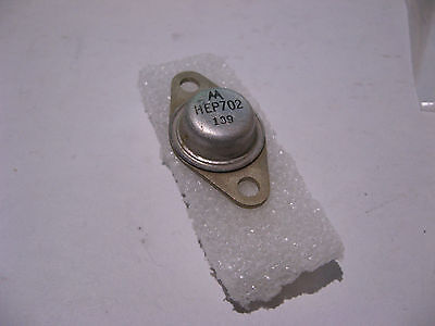 Motorola Hep702 Silicon Si Power Transistor Vintage - Used Socket Pull Qty 1