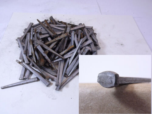 "100 2"" - Rose Head Square - Rustic reproduction nails"