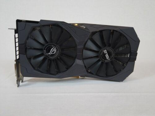 ASUS AMD RADEON ROG-STRIX-RX570-04G-GAMING 4GB RGB STRIX LOGO, TESTED, FREE SHIP