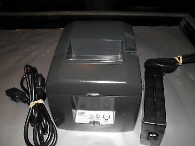 (Star Micronics TSP650 TSP654 POS Thermal Receipt Printer w Power Supply Parallel)
