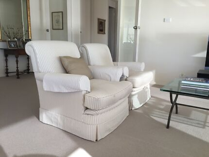 Pair of Handcrafted Armchairs Darling Point Eastern Suburbs Preview