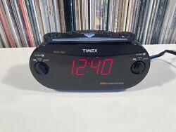 Timex Digital Clock XBBU  Alarm Clock Radio Redi-Set TESTED