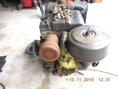 Briggs Stratton 8 H.p. With Comet Clutch Belt Assembly