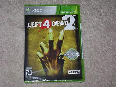 LEFT 4 DEAD 2...XBOX 360...***SEALED***BRAND NEW***!!!!!