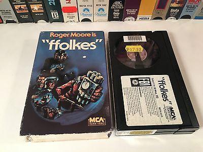 * Ffolkes Betamax NOT VHS 1980 Thriller Roger Moore James Mason Hijack Terrorism