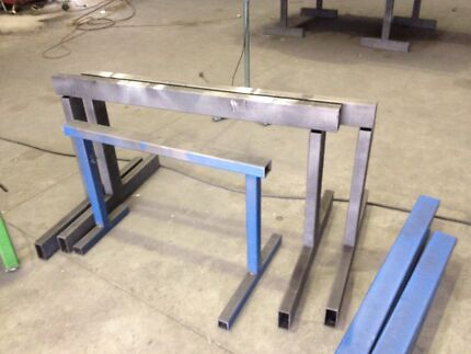 3 heavy duty steel trestles   Littlehampton Mount Barker Area Preview