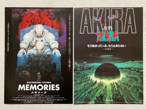 Katsuhiro Otomo AKIRA 1988 MEMORIES 1995 Movie Flyer Japanese Chirashi