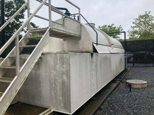 10,000 Gallon, Double Wall, UL-2085 Fireguard Fuel Storage Tank with Dike