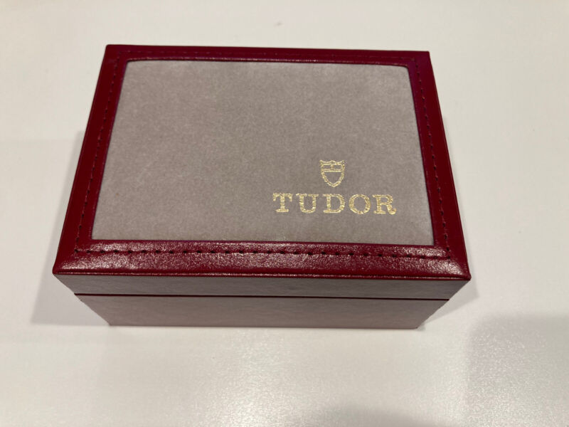 Authentic Vintage Tudor Watch Box Outer Box/Inner. BOX only