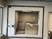Drywall removal concrete removal