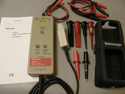 TEKTRONIX P5210 HIGH VOLTAGE DIFFERENTIAL PROBE (Tested )