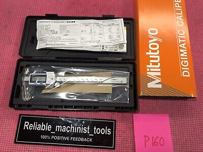New Mitutoyo Japan Made 6 Inch Digital Caliper 500-769-20-cd-p6mr Ip67p160