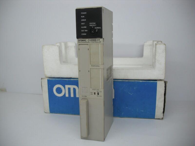 Omron Cv2000-v1 Programmable Controller Cv2000-cpu01-ev1