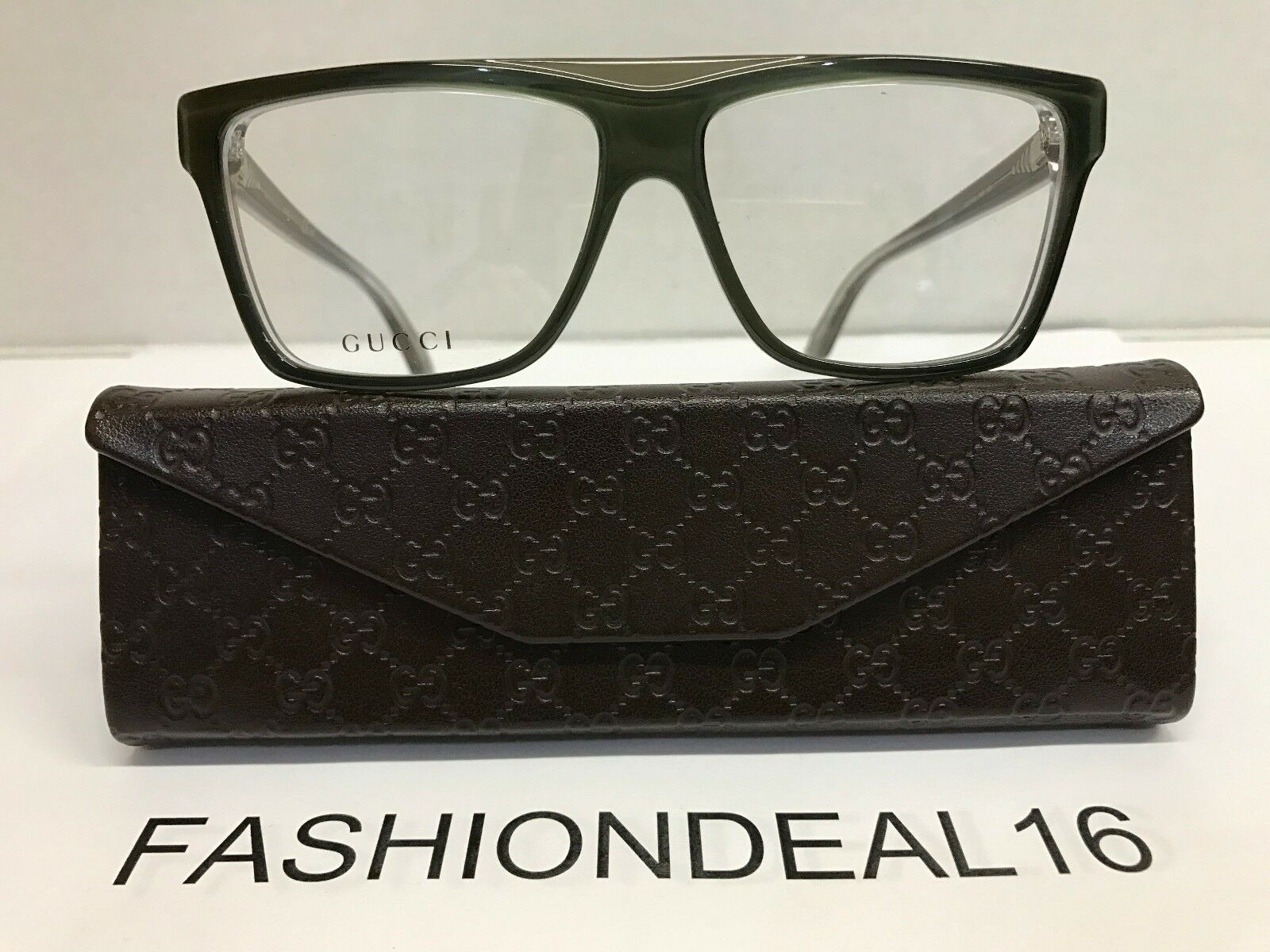 eda47f1055c4a New GUCCI Authentic w TAGS Green GG3545 5MO 55mm Eyeglasses
