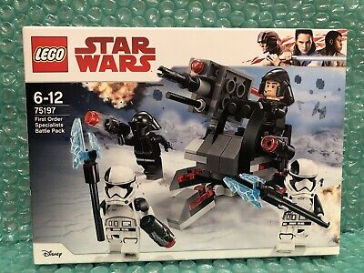 Lego Star Wars 75197 First Order Specialists Battle Pack. Brand New, Retired Set