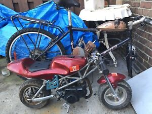 Pocket bike and motorized bicycle for sale