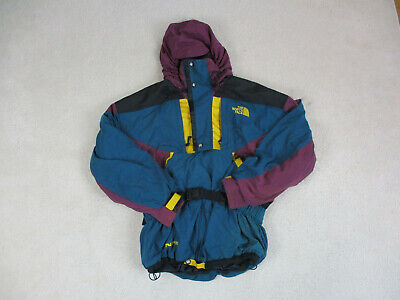 VINTAGE North Face Jacket Adult Extra Large Green Purple TNF Coat Mens 90s *