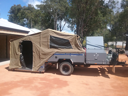Eureka camper WA made * suit new buyer *